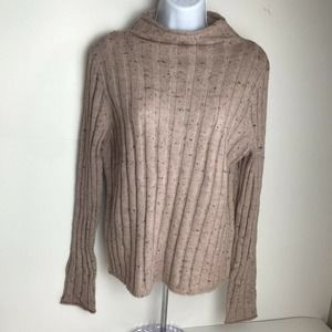 Madewell Wool Blend Pink Knit Sweater